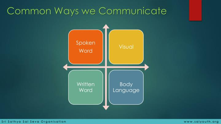 ways to communicate Ways we communicate the sunnyvale school district believes positive home/ school relations are critical to the support and success of our schools it is our.