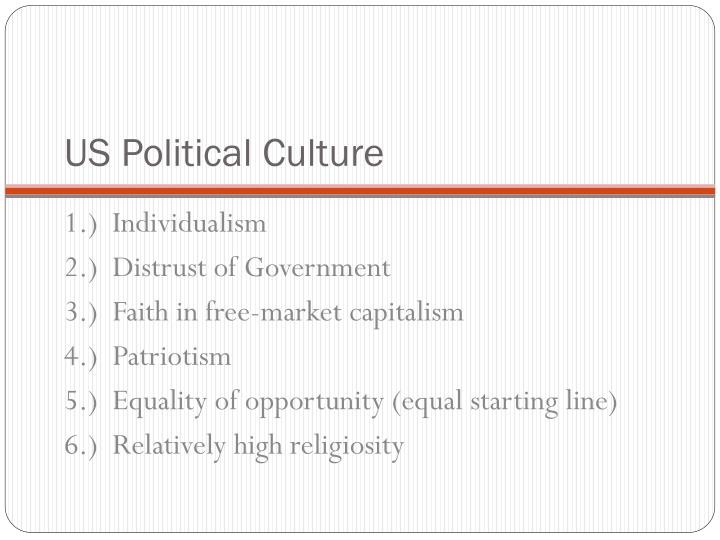 US Political Culture