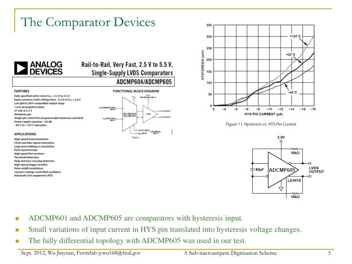 The Comparator Devices