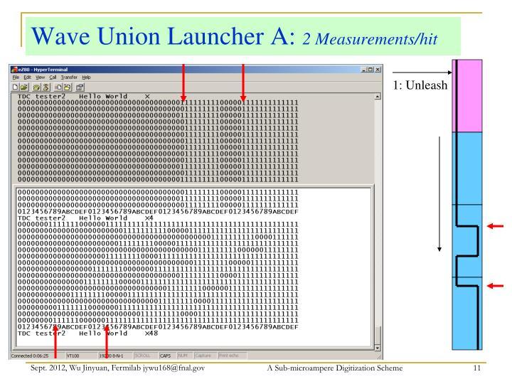 Wave Union Launcher A: