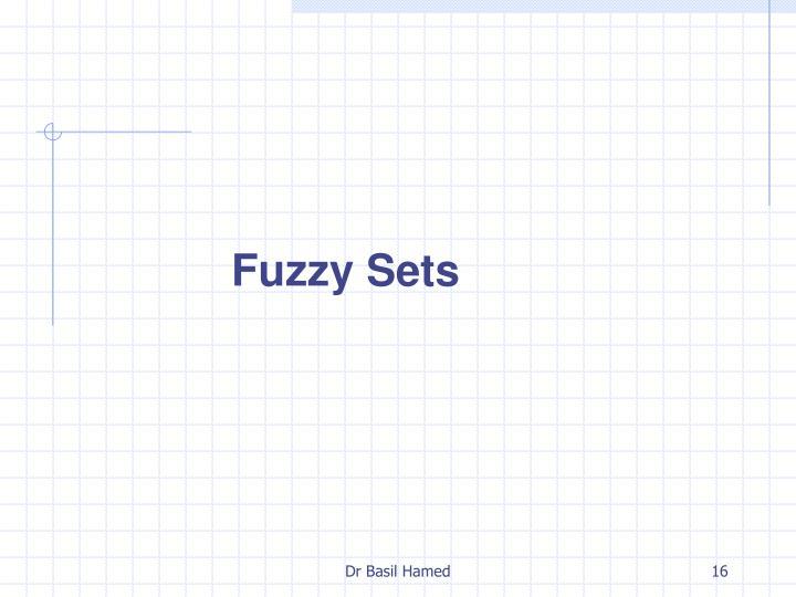 Fuzzy Sets