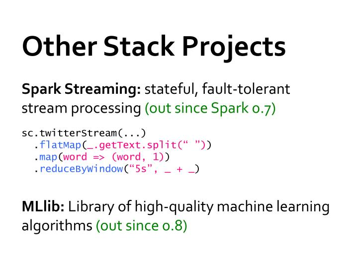 Other Stack Projects