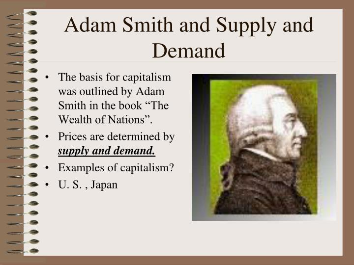 Adam Smith and Supply and Demand