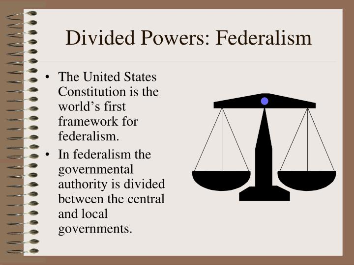 Divided Powers: Federalism