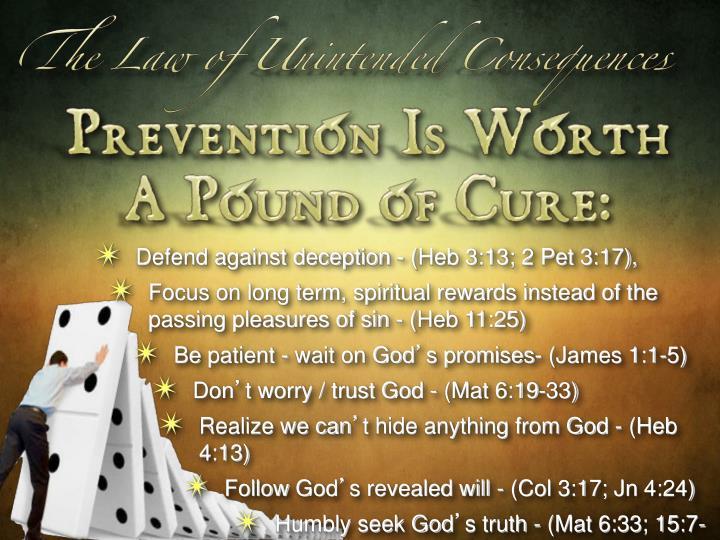 Defend against deception - (