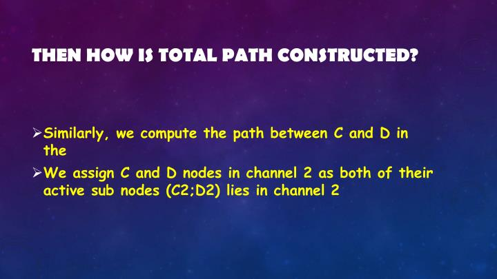 Then how is total path constructed?