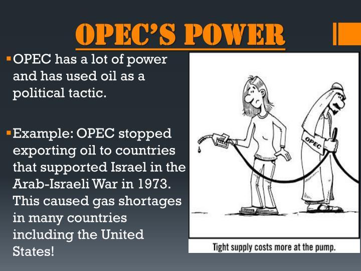 OPEC's POWER