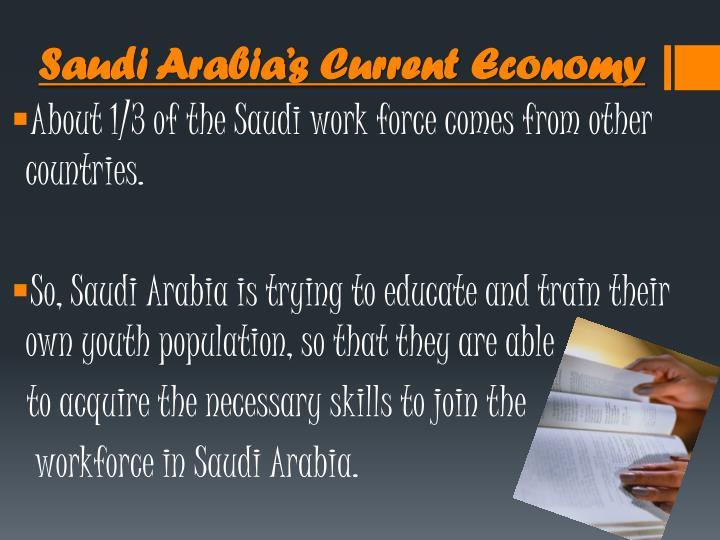 Saudi Arabia's Current Economy