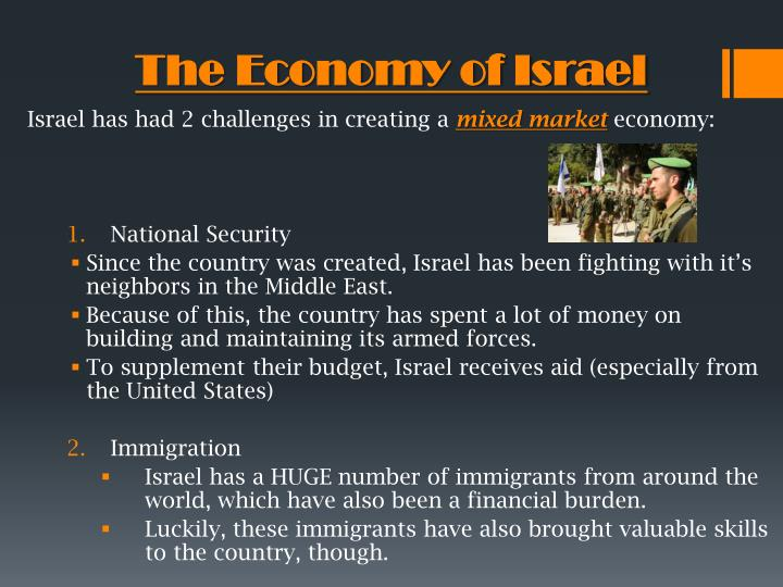 The Economy of Israel