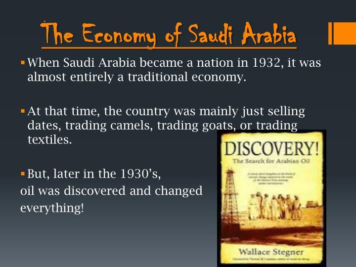 The Economy of Saudi Arabia