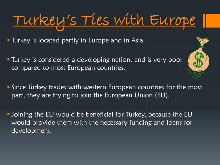 Turkey's Ties with Europe