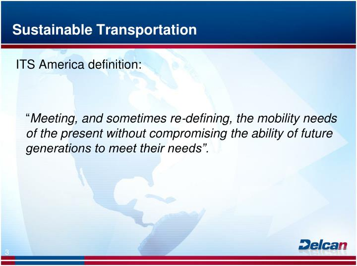 Sustainable transportation2