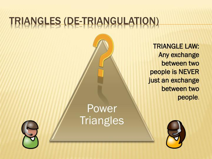 Triangles (de-triangulation)