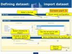 defining dataset import dataset1