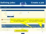 defining jobs create a job2