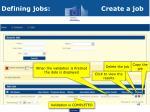 defining jobs create a job3