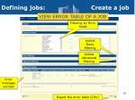 defining jobs create a job5