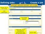 defining jobs create a job9
