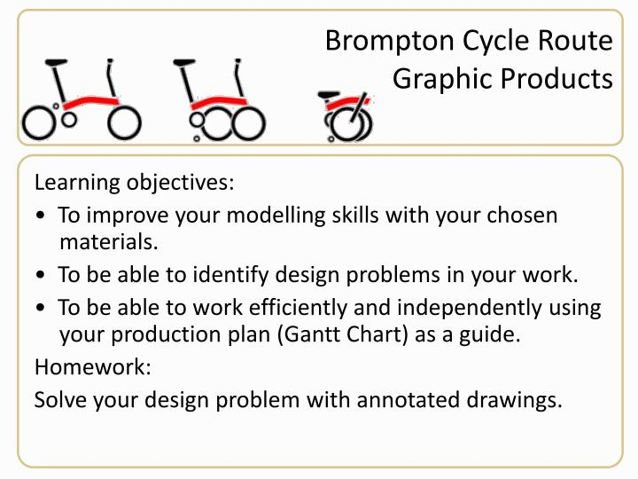 Brompton Cycle Route