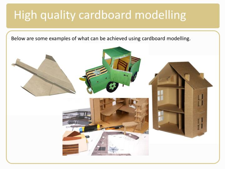 High quality cardboard