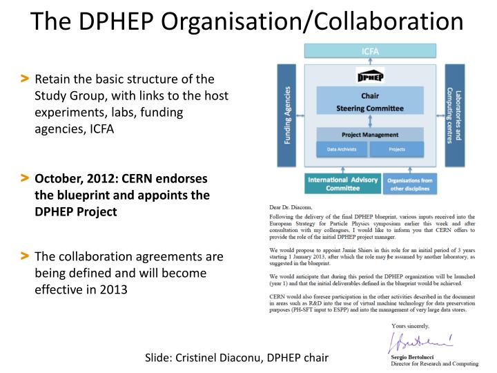 The DPHEP Organisation/Collaboration