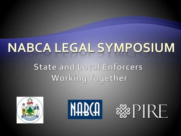 Nabca legal symposium