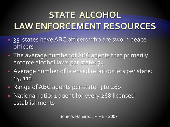 STATE  ALCOHOL