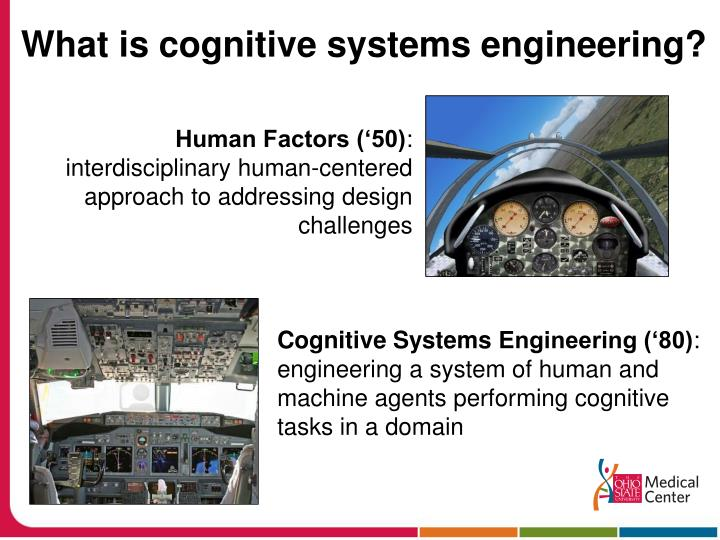 What is cognitive systems engineering?
