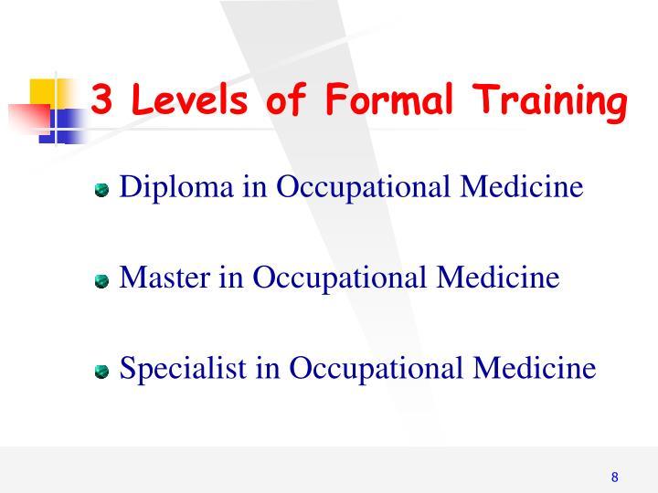 3 Levels of
