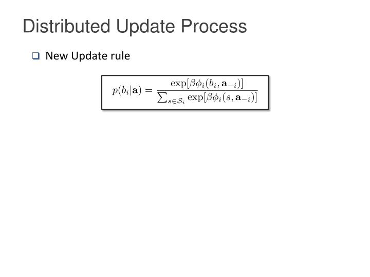 Distributed Update Process