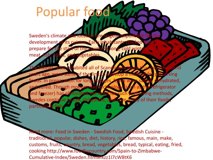 Popular food
