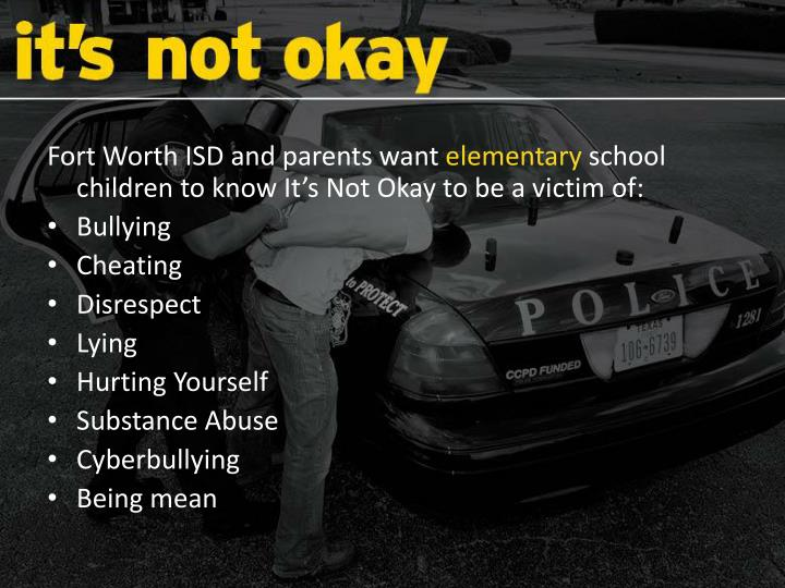 Fort Worth ISD and parents want