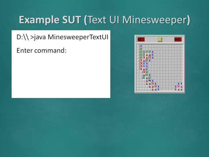 Example SUT (
