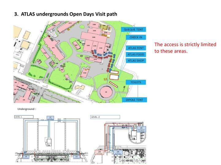 3.  ATLAS undergrounds Open