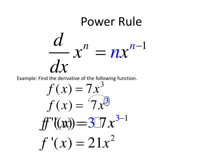 Power rule