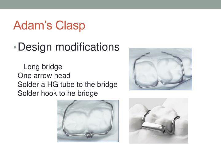 Adam's Clasp