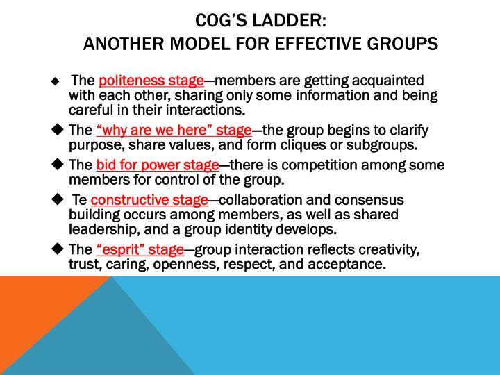 Cog's Ladder: