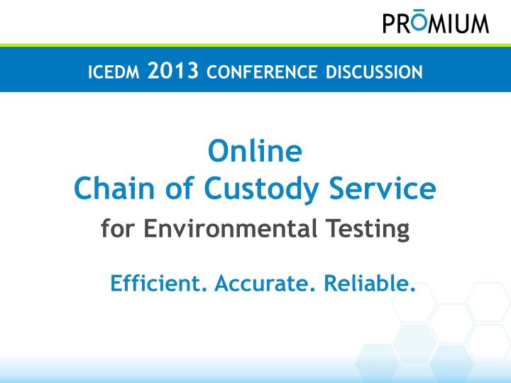 I cedm 2013 conference discussion