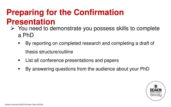Thesis Proposal Example Ppt