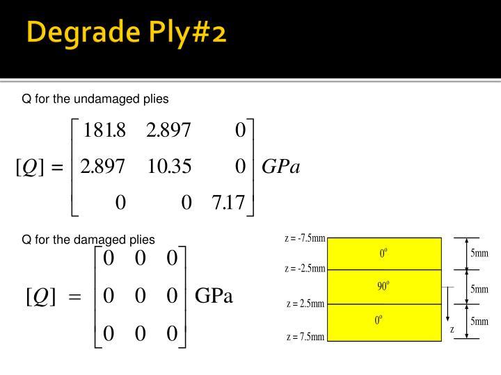 Degrade Ply#2