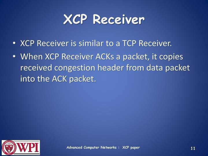 XCP Receiver