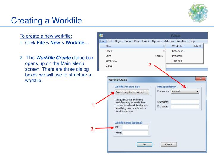 Creating a Workfile