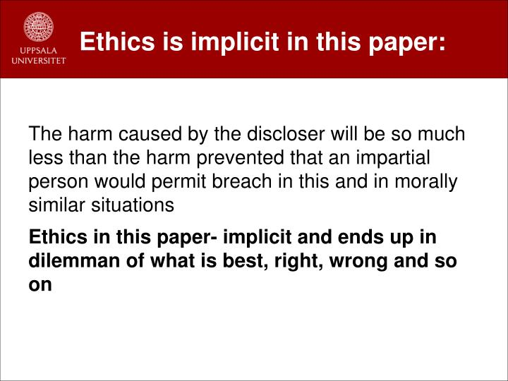 morality and competitor essay Beech nut case study on ethics essay retailer and competitor the code of morality and ethics was violated by deceiving people about the content of the.