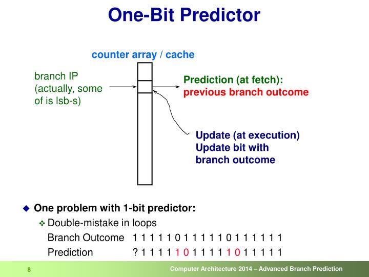 counter array / cache