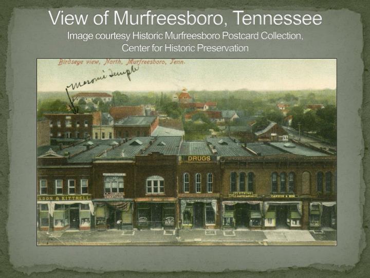 View of Murfreesboro, Tennessee