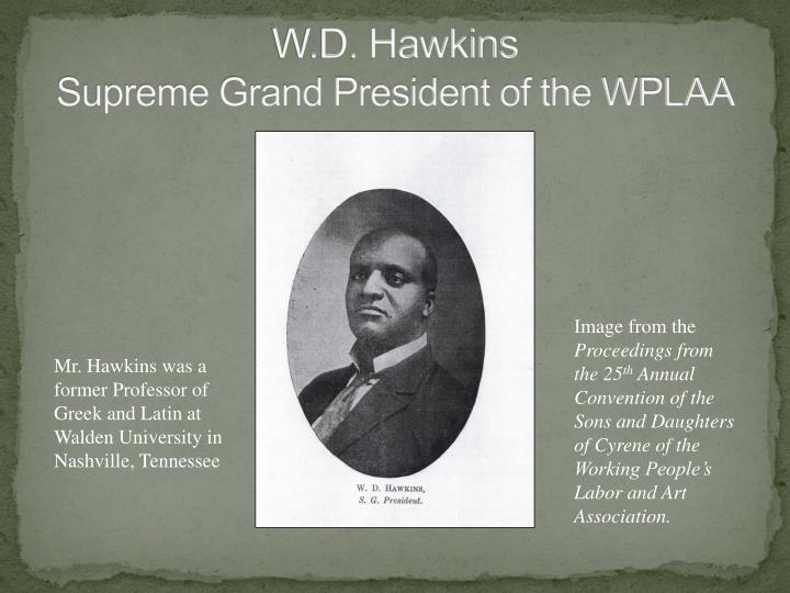 W.D. Hawkins