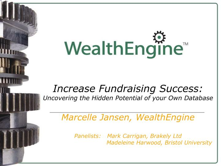 Increase Fundraising Success: