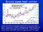 revised ocean heat content