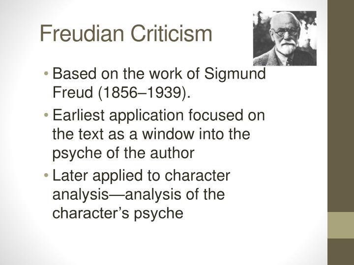 Freudian Criticism