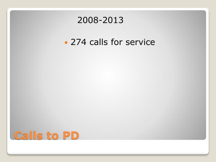 Calls to pd
